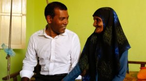 Candidate 4, Mohamed Nasheed