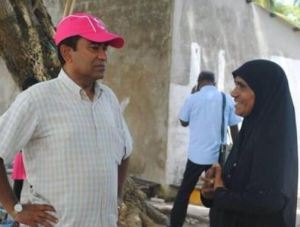 Candidate 3, Abdulla Yameen