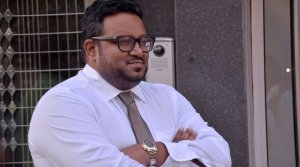 Vice President to-be, current Tourism Minister Ahmed Adeeb, lesser evil? (Source: Haveeru)