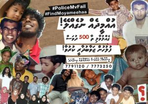 500 Days; Find Moyameehaa - Source: Twitter